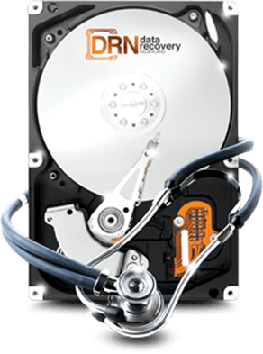 data recovery licht puntjes
